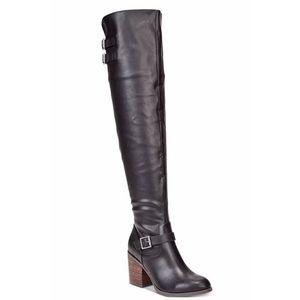 Material Girl Women's Modiana Over The Knee Boots